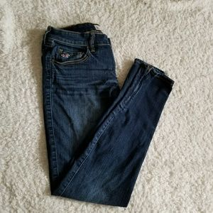 Hollister 5R Skinny Jeans with Zipper Ankle